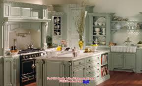 kitchen elegant retro style kitchen design ideas with white