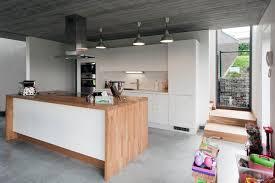 ilot central cuisine contemporaine ophrey com cuisine design avec ilot central prélèvement d