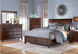 dark walnut bedroom set syracuse shop factory direct furniture