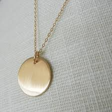 gold round necklace images 49 gold circle pendant necklace gold circle necklace brushed gold jpg