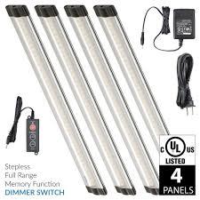 warm led under cabinet lighting 12 inch warm white modular led under cabinet lighting standard