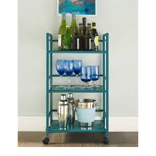 Rolling Bathroom Storage Cart by Altra Marshall 3 Shelf Rolling Utility Cart Free Shipping On