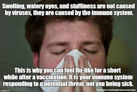 Get Meme - when you get flu symptoms after a flu skeptical meme society