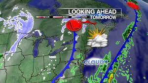 Jet Stream Map Rain Tapers Off But A Cold Jet Stream Sets Up For Next Week Wpix