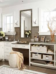Countertop Cabinet Bathroom Creative Bathroom Storage Ideas