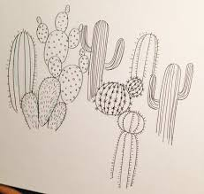 cactus pattern skillshare projects