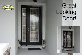 Fiberglass Exterior Doors With Glass Pemberton Fiberglass Entry Door The Glass Door Store