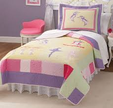 Ballet Comforter Set Classic Dancers Bedding Pink Quilt In Twin And Full Queen For Girls
