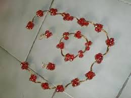 fashion jewellery beaded and wire wrapping in bangalore