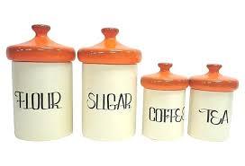 orange kitchen canisters kitchen canister kulfoldimunka club