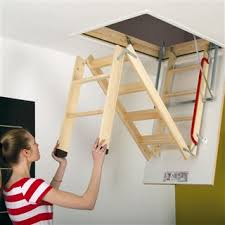 fakro lwk komfort timber loft ladder 550mm x 1110mm