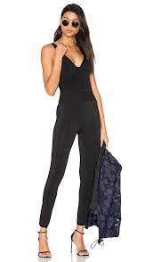 corset jumpsuit kendall corset jumpsuit in black revolve