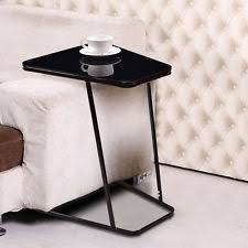 C Shaped End Table C Table Ebay