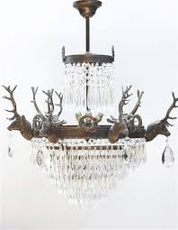 Vintage Crystal Chandelier For Sale 26 Best Light Fittings Images On Pinterest Light Fittings Stag