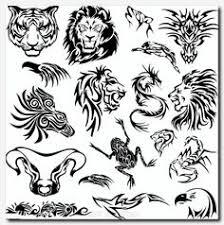 tribal name tattoo ideas simple tribal animal designs thehellcow design inspiration