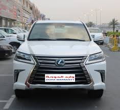 lexus lx used used lexus lx 570 5 door 5 7l 2016 car for sale in doha 709574