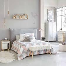 decoration de chambre superieur idee deco gris et blanc chambre fille decoration mur