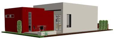 casita plan small modern house plan 61custom contemporary