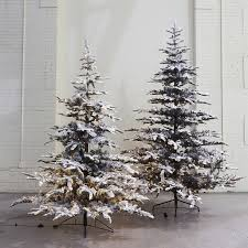 pre lit led snowy faux noble fir terrain