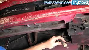 Camaro Fog Lights How To Install Repair Replace Fog Lights Chevy Camaro Iroc Z