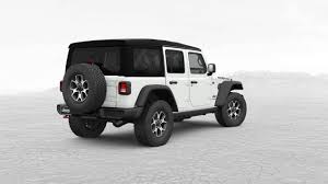 white jeep rubicon most expensive 2018 jeep wrangler jl costs 57 310