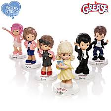 precious moments grease figurine collection sandy danny