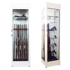 Glass Gun Cabinet Armoured Gun Cabinets Sicura Casseforti