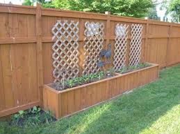 new ideas fence planters with lasiroc pictures gallery fence