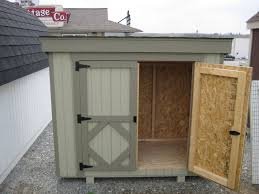 garbage can shed wood storage shed