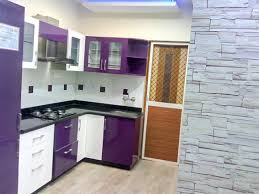 monochrome small kitchen design ideas with splendent l shaped