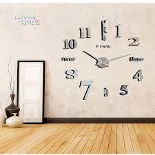 europe simple ideas new quartz huge wall clock modern home