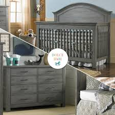 2 Piece Nursery Furniture Sets by Dolce Babi Lucca 2 Piece Nursery Set Crib And Double Dresser In