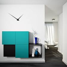 Deep Wall Shelves by Exotic Black Floor Paint Color Feat Cool Modular Wall Storage And