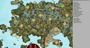 Lightning Maps Maps With All Mod Locations On Them Please Sticky Dead Island