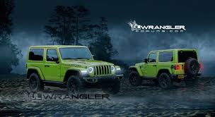 wrangler jeep green 2018 jeep wrangler jl masterfully rendered into reality