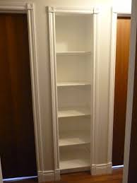 Small Book Shelves by D I Y D E S I G N Closet Bookshelf