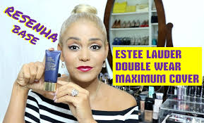 estee lauder double wear maximum cover 11 very light resenha base estee lauder double wear maximum cover youtube