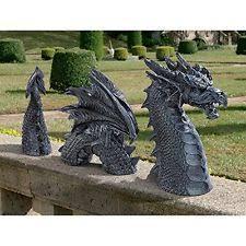 gargoyles dragons statues lawn ornaments ebay