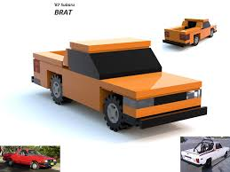 1987 subaru brat the world u0027s most recently posted photos of lego and subaru