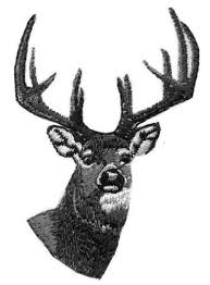 Stag Head Designs Deer Head Embroidery Designs Machine Embroidery Designs At