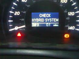 hello dirmy car camry hybird 2007 read the code u0110 what can i
