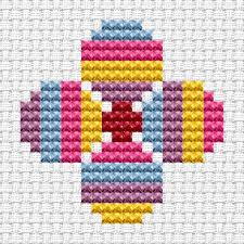 from the cat cross stitch easy peasy range