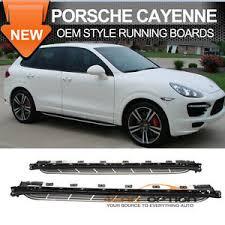 porsche cayenne running boards 11 16 porsche cayenne oe style running board side nerf bar