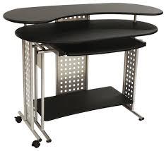 Best Buy Computer Desks Comfort Products Regallo Expandable L Shape Computer Desk Black 50
