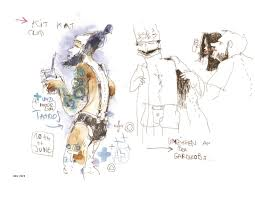 sketches from the hedonistic berlin nightclubs where photography