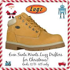 lugz men u0027s drifter work boots giveaway