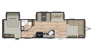 keystone travel trailer floor plans keystone springdale 38fl travel trailer for sale