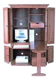 Laptop Armoire Desk Desk Santa Fe Drop Leaf Laptop Desk Armoire By Designs