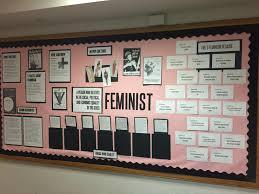 ra bulletin board on feminism my creations as an ra pinterest