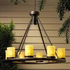 outdoor lighting kichler 15402oz oak trail 12v outdoor chandelier